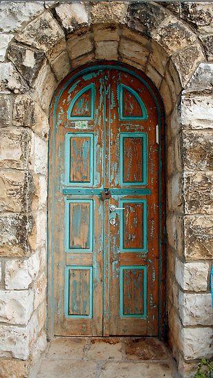 Love a deep jamb! - Rosh Pinna, Israel