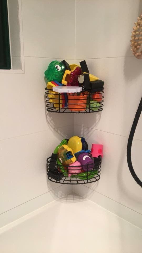 Bath Toy Storage Kmart Shower Caddies Also Come In A Rectangle Version Toy Storage Bath Toy Storage Bath Toys