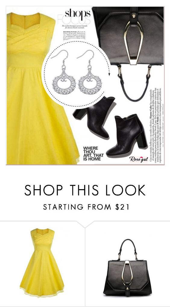 """""""# I/2 Rosegal"""" by lucky-1990 ❤ liked on Polyvore featuring Pierre Hardy"""