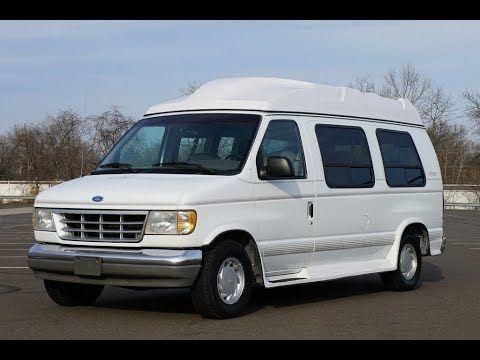 1996 Ford E150 Hightop Conversion Van Vans Van Conversion Van Car