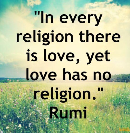 Religion divides - spirituality unites