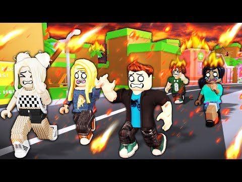 I Used Roblox Admin To Make It Rain Fire Youtube In 2020