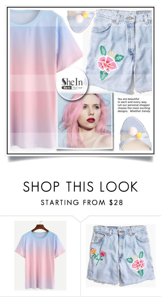 """""""Shein"""" by ewa-naukowicz-wojcik ❤ liked on Polyvore featuring Madewell and Sophia Webster"""