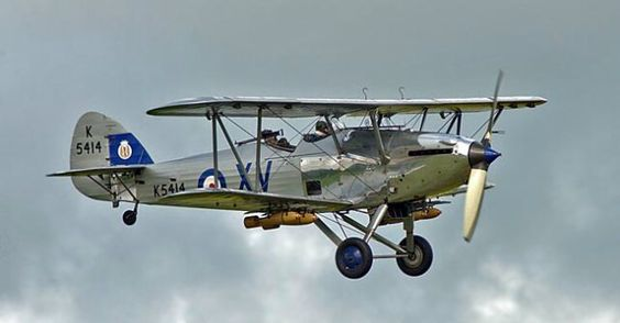 82years ago #Hawker Hind made 1st flight