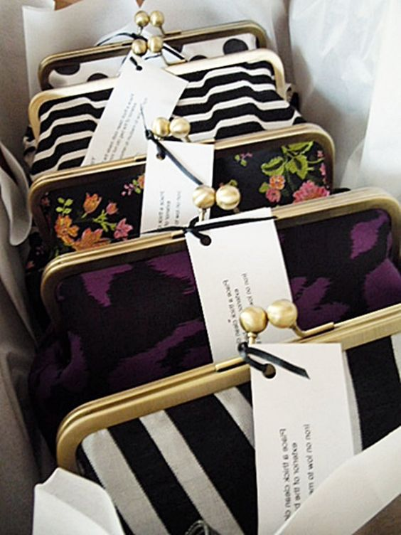 custom bridesmaid clutches