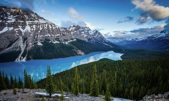 Le lac peyto Canada