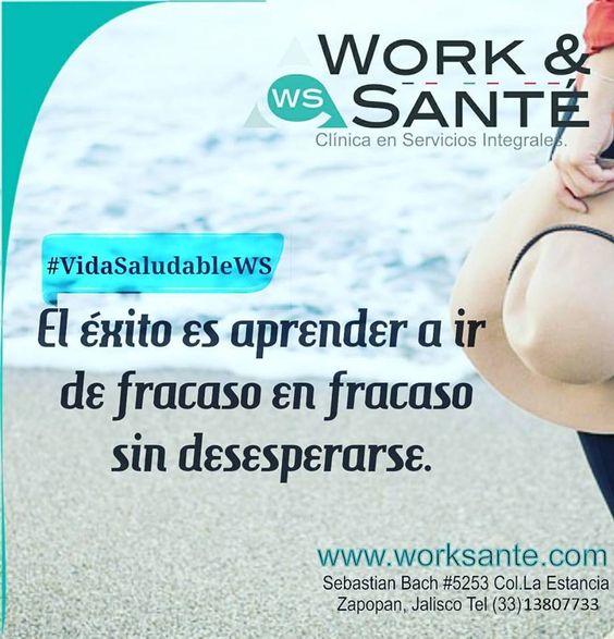 Buen dia! #VidaSaludableWS #WorkSante #Zapopan #bienestar #Salud #hombre #mujer #frases #motivaciones #Hoy #jueves #septiembre