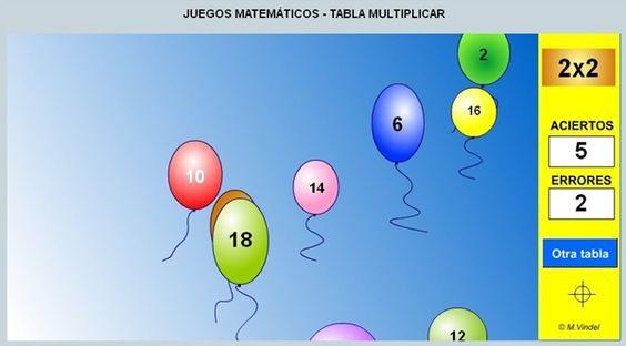 Tic tablas multiplicar