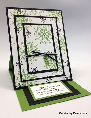 More stampin 39 up holiday card ideas easels the art of for Mary fish stampin up