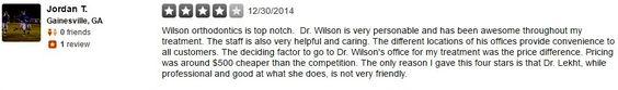 Wilson Orthodontics 1220 Sherwood Park Dr. NE Gainesville, GA 30501 Phone: (770) 824-3471