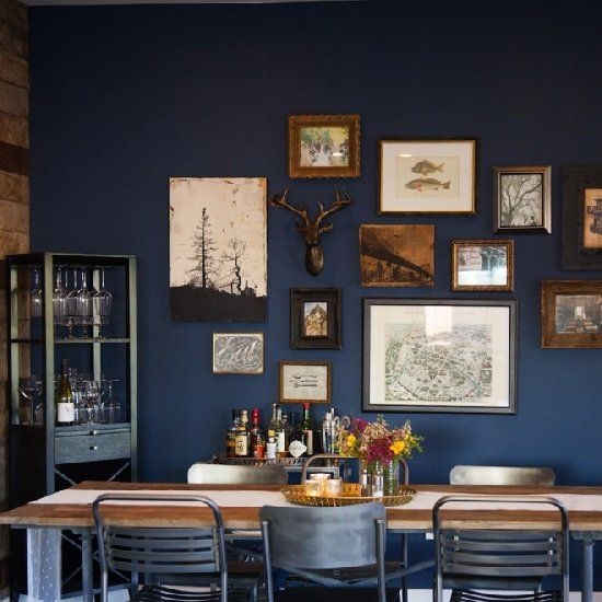 Industrial and rustic, while also warm and chic.  This Highland Park living and dining space in Los Angeles has it all.