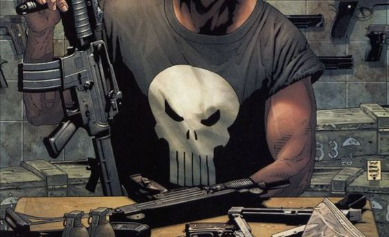 Marvel: The Punisher Skull Logo