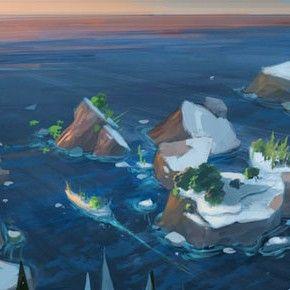 Artes de Sandeep Menon para Ice Age 4