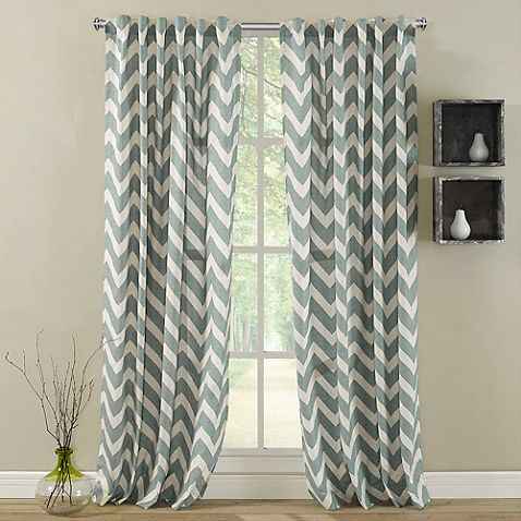 Zigami Rod Pocket Window Curtain Panel | New House Furniture ...