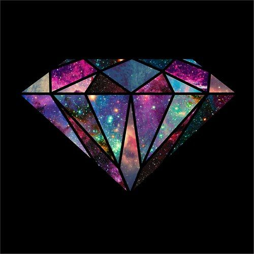 Outer Space Diamond: Style, Girls And Galaxies On Pinterest