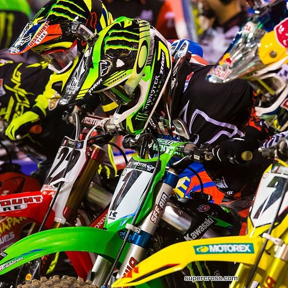 James Stewart Chad Reed and Ryan Villapoto
