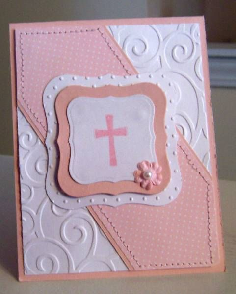 First communion by sbs81 cards and paper crafts at for First communion craft ideas