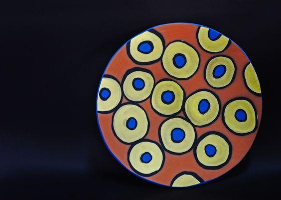 wall plate e&a ceramics