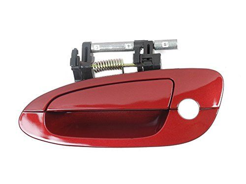 Motorking B3783 02 08 Nissan Altima Outside Door Handle Driver Front Left A15 Sparkle Red