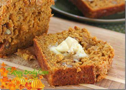Snickerdoodle Pumpkin Walnut Bread!!!