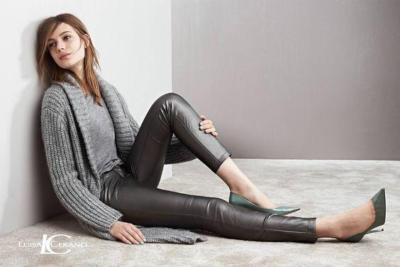 LUISA CERANO Kollektion Herbst/Winter 2015 – Look16 #fashion #HW15