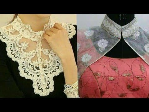 Chinese Neck Designs With Embroidery Very Beautiful Chinese High Neck Design For Kurti Suits Y High Neck Kurti Design Neck Designs For Suits Neckline Designs