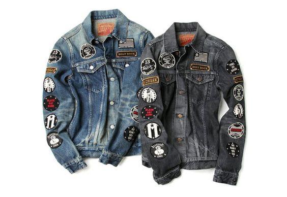 patch jackets: