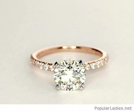 Simple But Awesome Traditional Engagement Ring