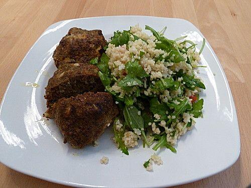 Couscous-Rucola Salat