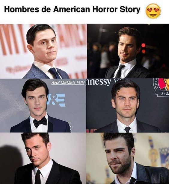 Hombres de American Horror Story 😍