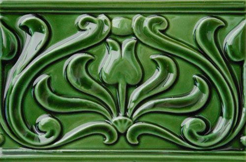 Embossed Pilkington And Tube Lined Victorian Tiles For Walls Fireplaces And Porches From Victorian Ceramics Victorian Tiles Porch Wall Tiles Embossed Tile