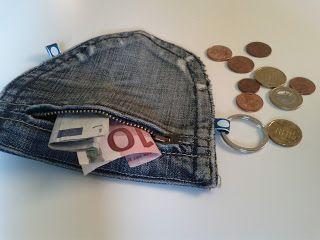 tag f r ideen jeans recycling t schchen aus alten jeanstaschen basteln f r den basar. Black Bedroom Furniture Sets. Home Design Ideas