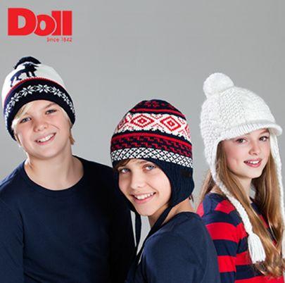 Soğuklar iyice bastırdı. Doll şapka ve berelerle sarıp sarmalanma zamanı!