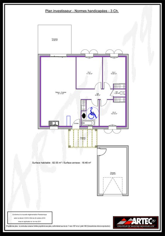 plan maison investisseur
