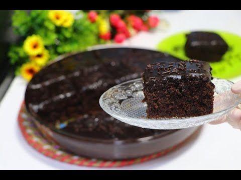 كيك الشوكولاتة الاسفنجية بصلصة الشوكولاته سهلة وسريع التحضير والطعم خرافي لذيذة جدا تستحق التجربة Youtube Desserts Food Pudding