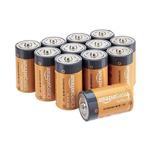 Amazonbasics D Cell 1 5 Volt Everyday Alkaline Batteries Https Www Amazon Com Dp B00mh4qkp6 Ref Cm Sw Alkaline Battery Battery Pack Electronic Gift Ideas