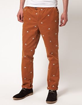 """""""Embroidered Trousers"""""""
