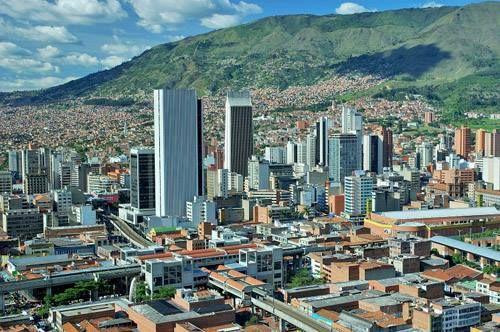 Medellin, centro de la Ciudad.