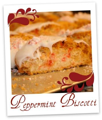 """Guest post recipe by """"Farmstead Chef"""" authors for Peppermint Biscotti! Perfect for the holidays! Includes a link to a cookbook giveaway."""