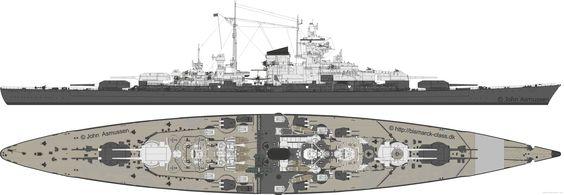 Tirpitz Blueprints Pinterest Battleship And Search