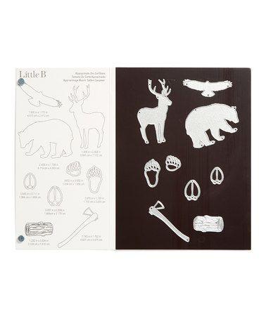 This Wildlife Die-Cut Cartridge - Set of Nine is perfect! #zulilyfinds