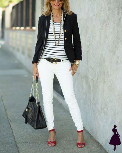 Jeans blancos: saca ideas de estos looks para verte increíble