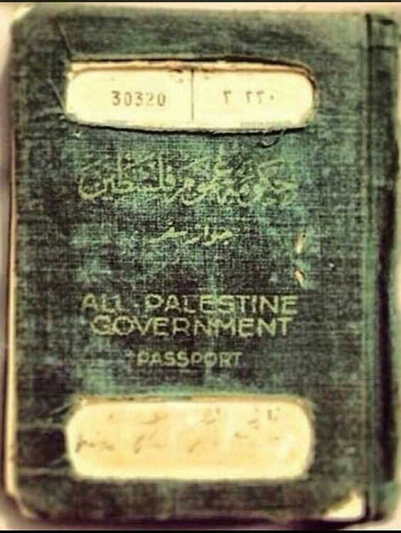 Palestinian pasport