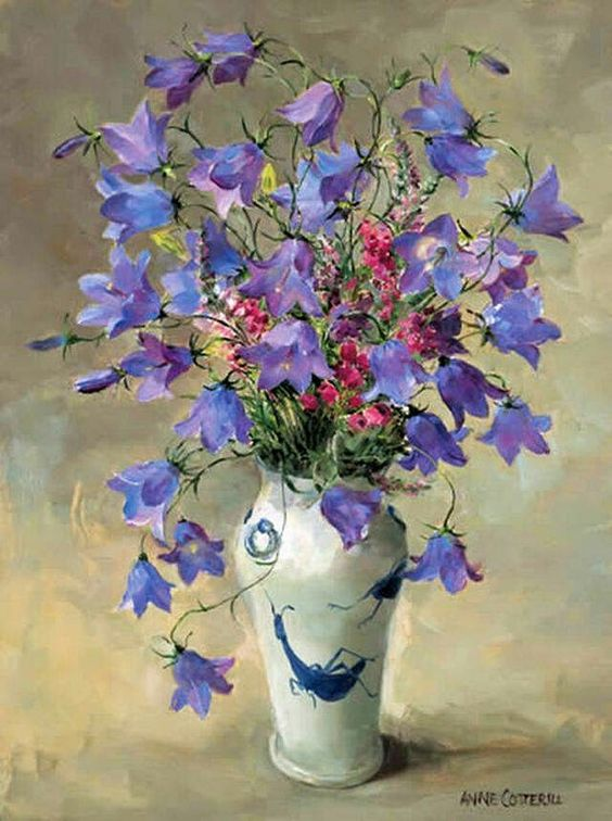 Anne Cotterill, Still Life with flowers