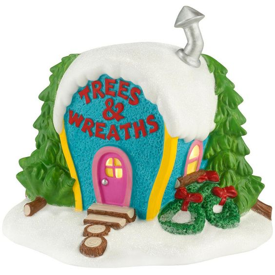 Who-Ville Trees And Wreaths $74.00