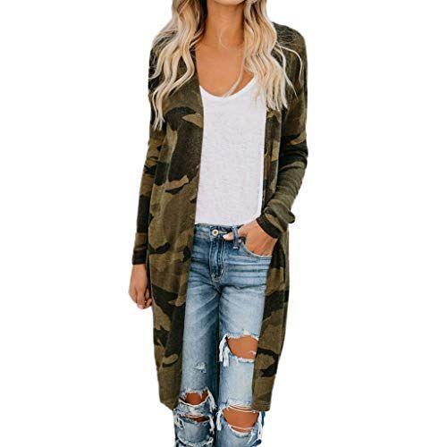 Fainosmny Women Winter Buttons Cardigan Plus Size Long Sleeve Coat Top Sweater Jacket Ladies Office Wear Blouse
