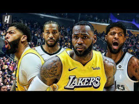Los Angeles Clippers Vs Los Angeles Lakers Full Game Highlights December 25 2019 20 Nba Season Los Angeles Lakers Los Angeles Clippers Nba Season