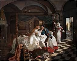 Romeo And Juliet Painting Sir Frank Dicksee
