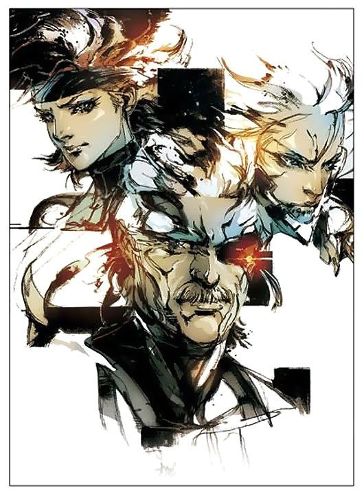 Character Faces, Metal Gear Solid 4: Guns of the Patriots