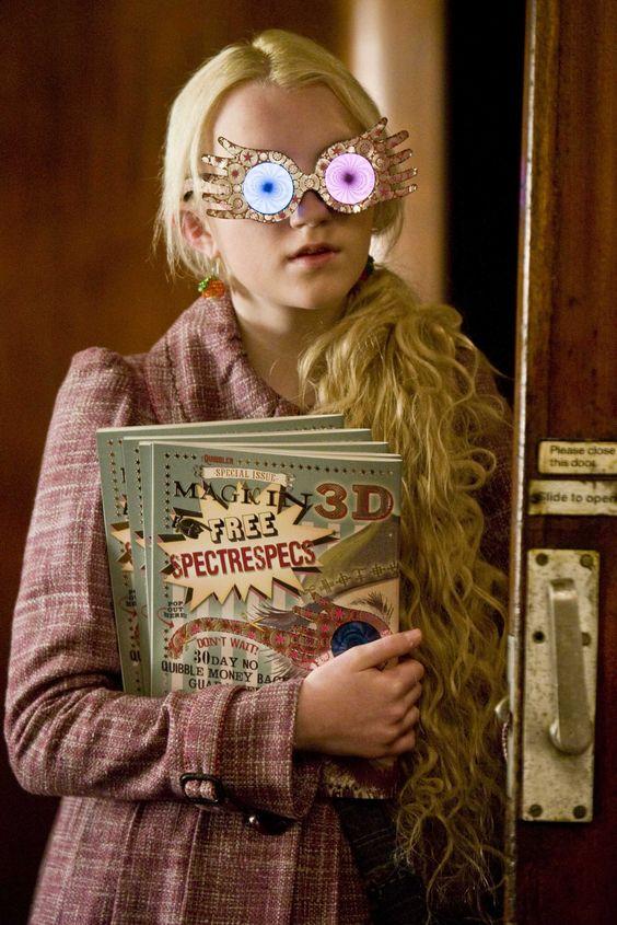Harry Potter and the Half Blood Prince | 2009, I love Luna's glasses! <3